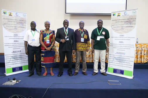 The University's Africa Center of Excellence in sustainable use of insects as food and feeds held its inception workshop